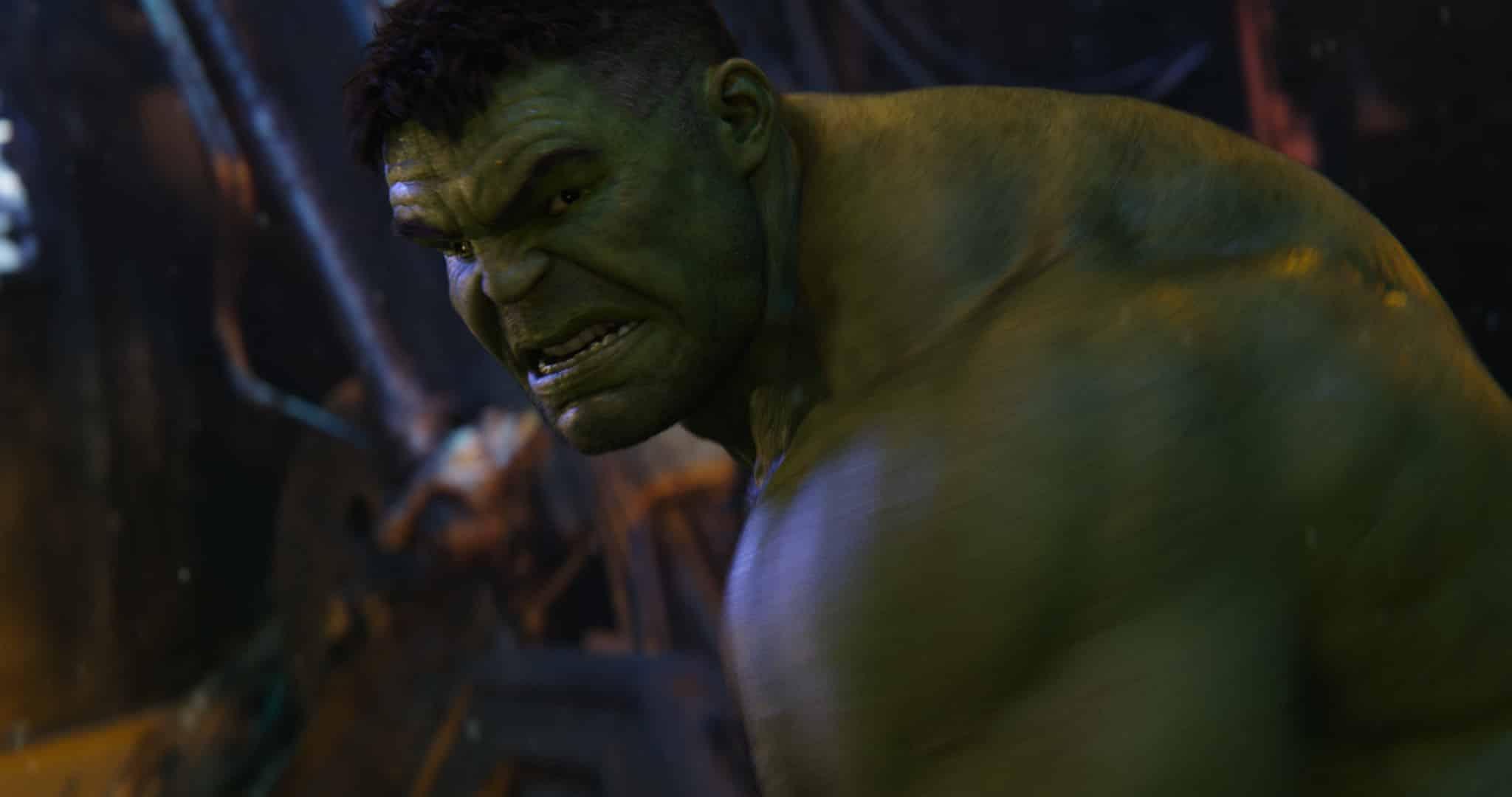 Hulk vo filme Avengers: Infinity War