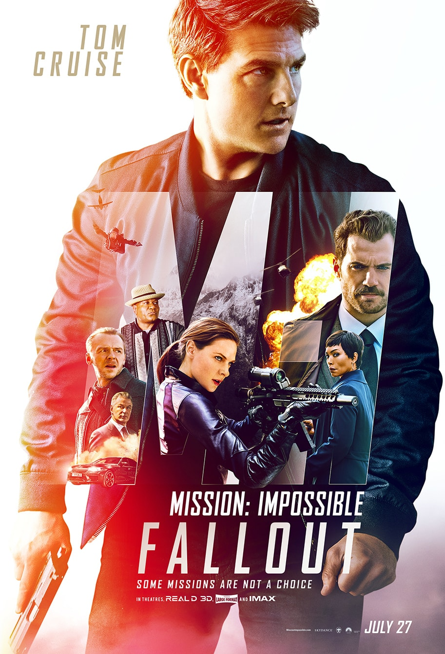 Oficiálny plagát na Mission: Impossible - Fallout