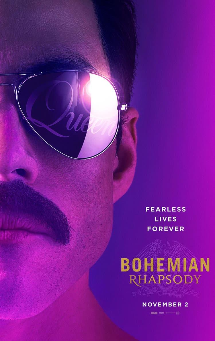 Oficiálny teaser plagát na Bohemian Rhapsody