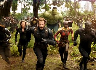Scény z filmu Avengers: Infinity War