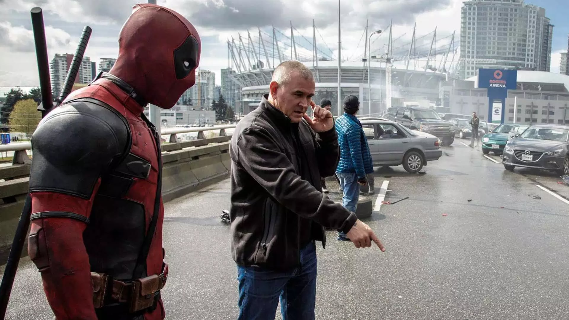 Deadpool BTS