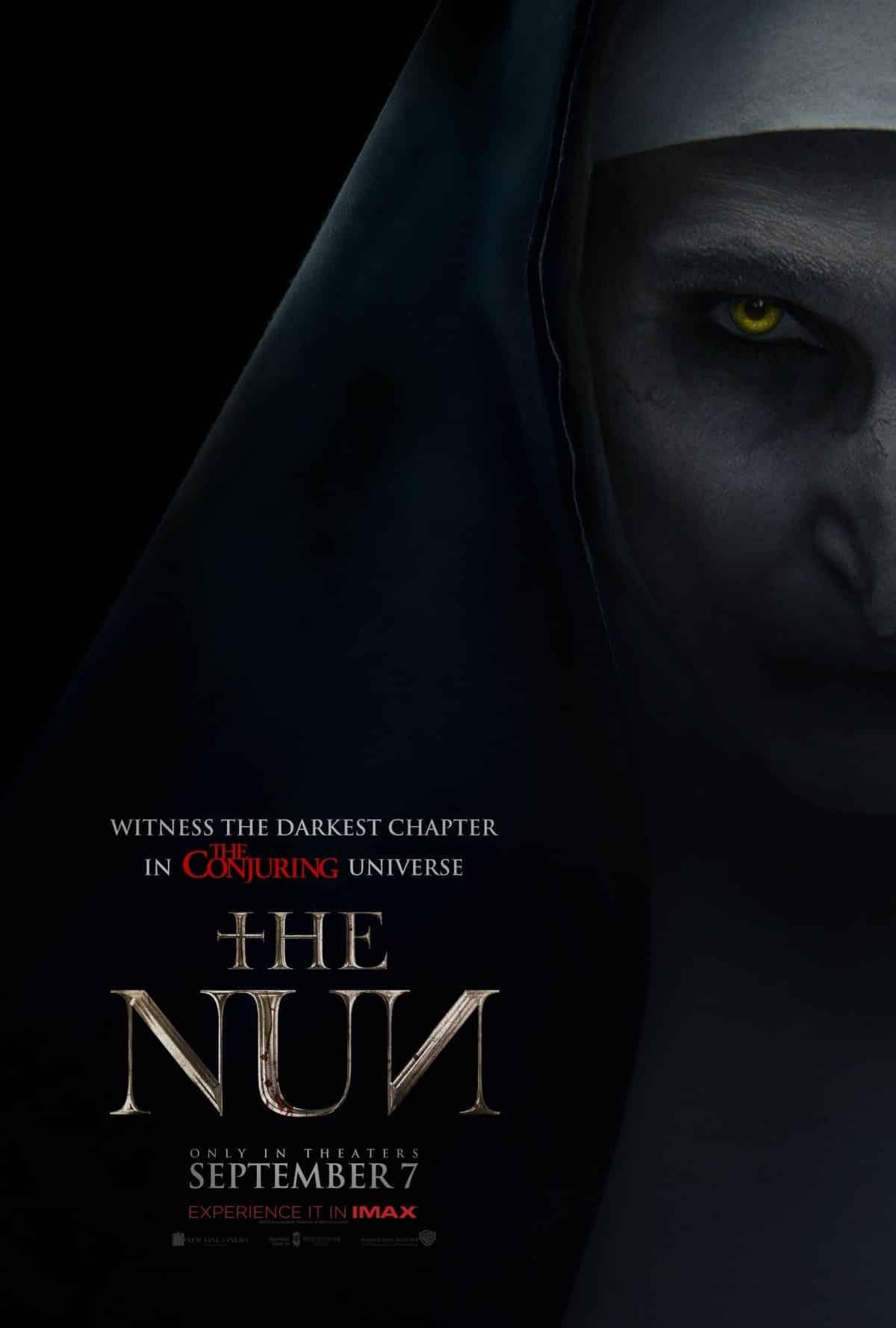 Prvý plagát na film The Nun