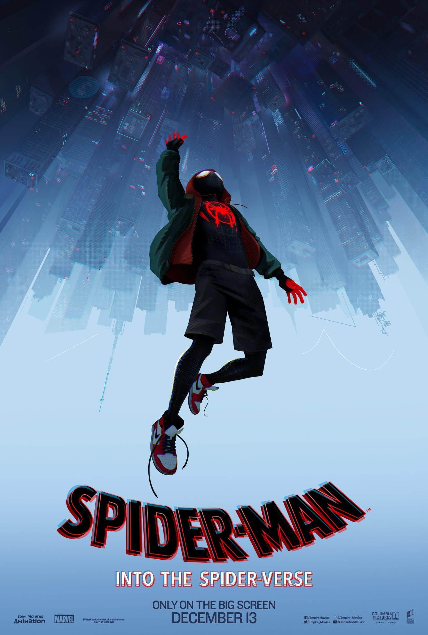 Plagát na film Spider-Man: Paralelné svety