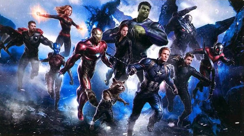 Uniknutý concept-art z filmu Avengers 4