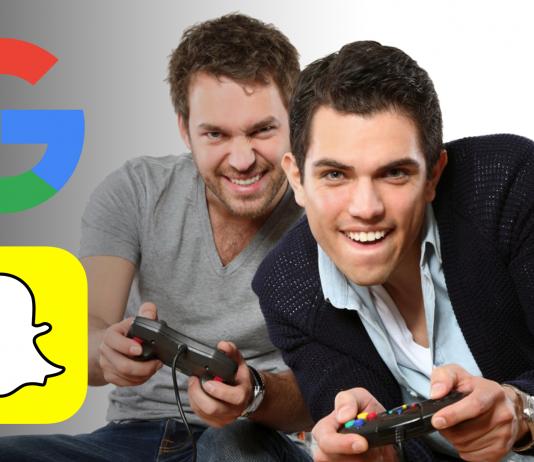 Google a Snapchat herný svet