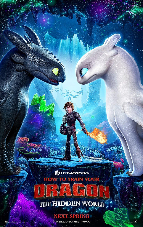 Oficiálny plagát na Ako si vycvičiť draka 3