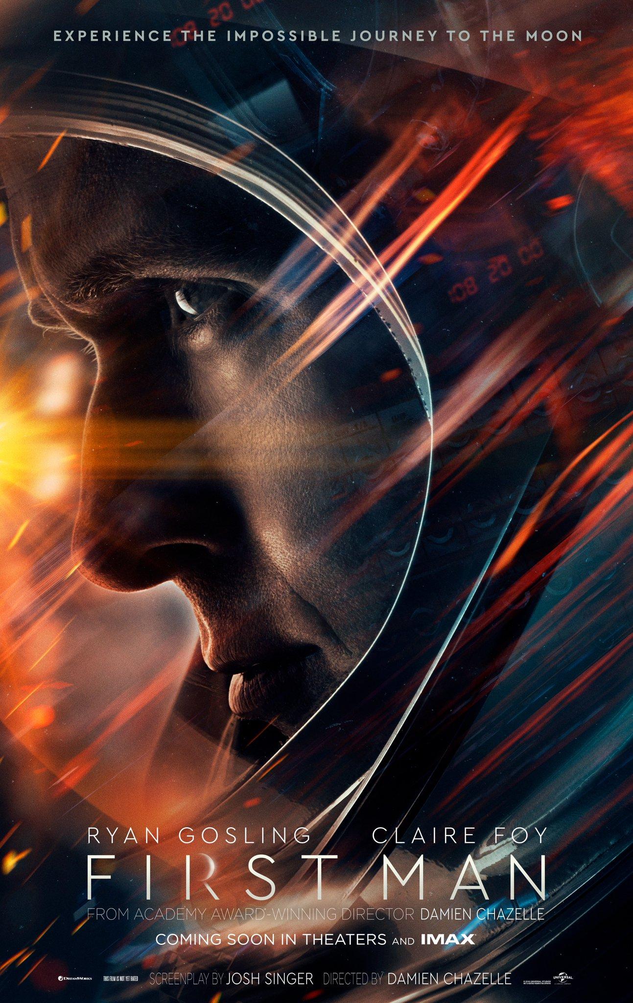 Prvý oficiálny plagát na film First Man