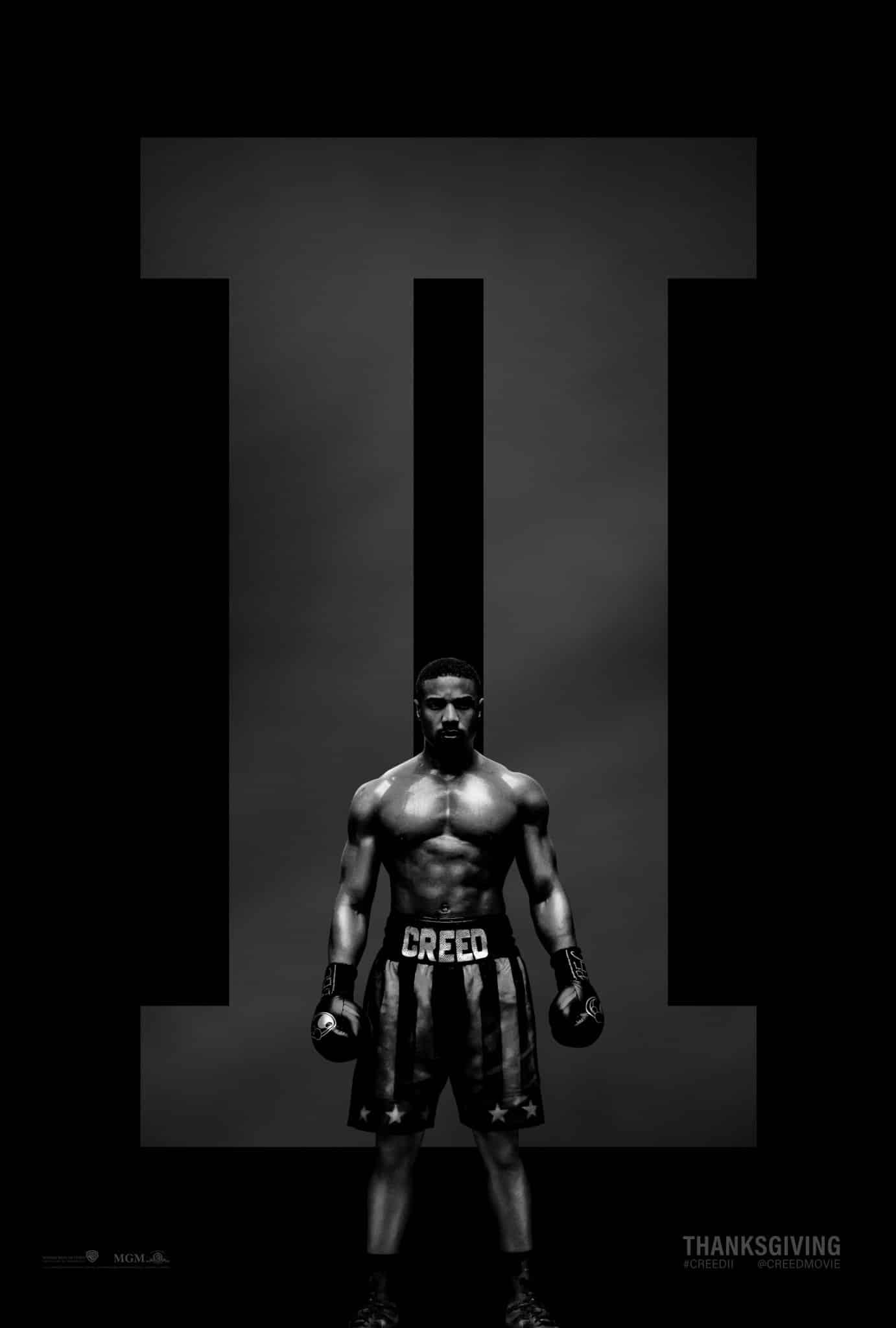 Oficiálny plagát na film Creed II