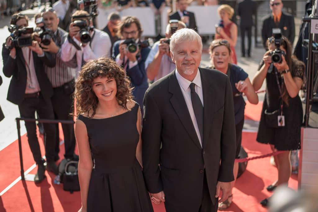 Stretnutie shollywoodskymi hviezdami na červenom koberci vKarlových Varoch 2018