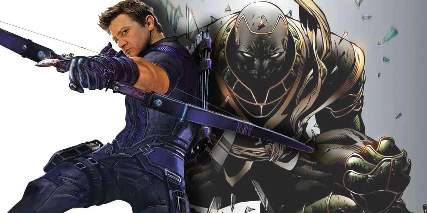 Hawkeye ako Ronin?