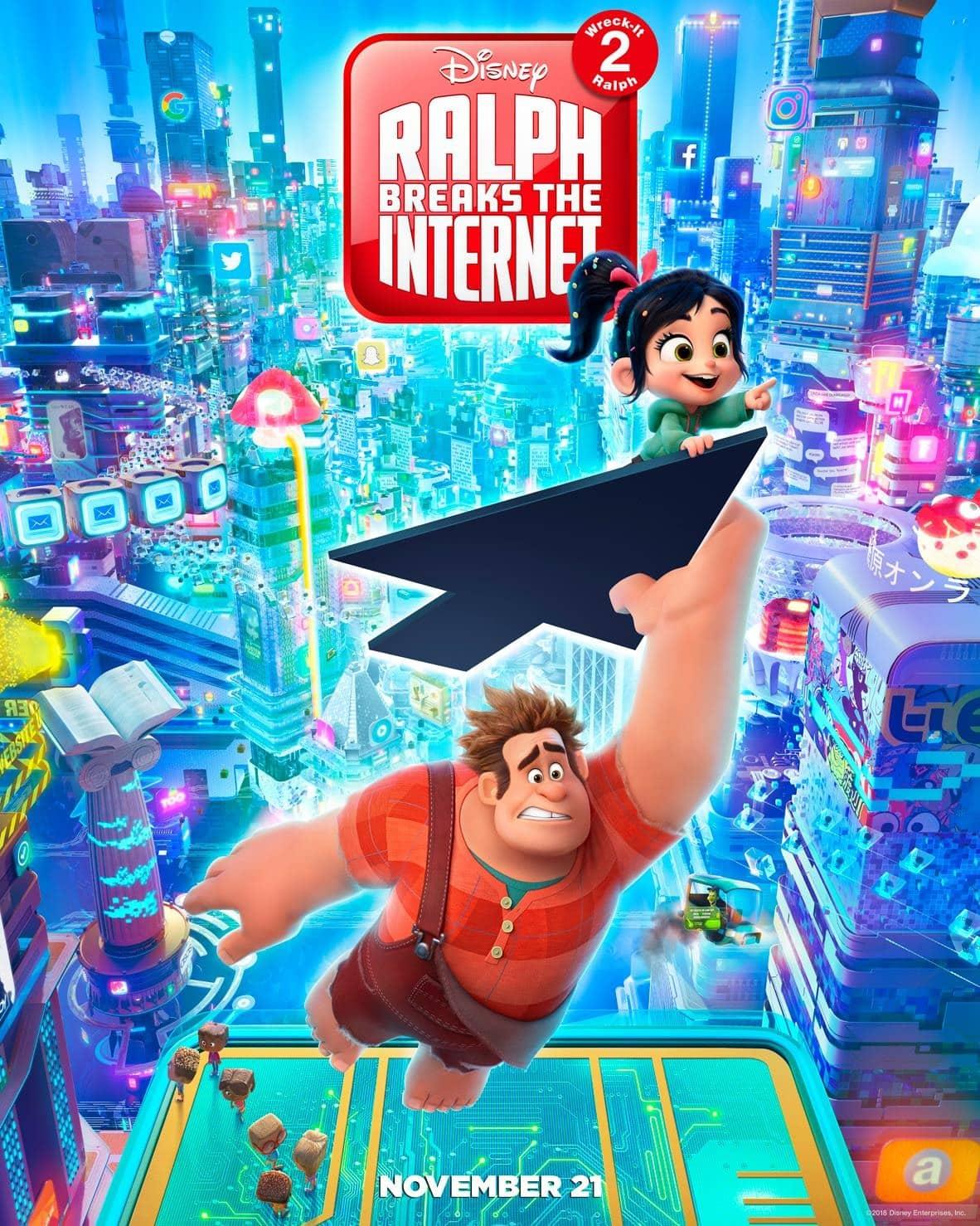 Oficiálny plagát k filmu Ralph Rozbi-to 2
