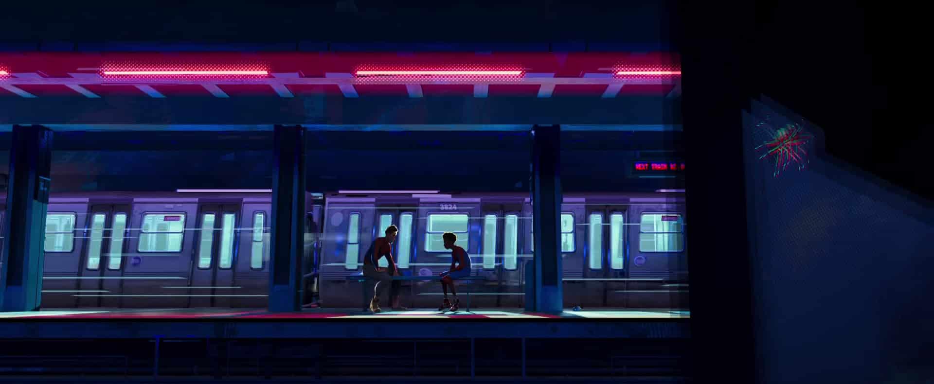 druhý trailer na film spider-man: paralelné svety