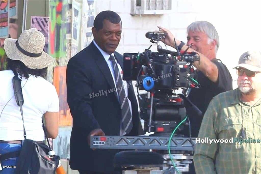 Samuel L. Jackson na natáčaní marvelovky Captain Marvel