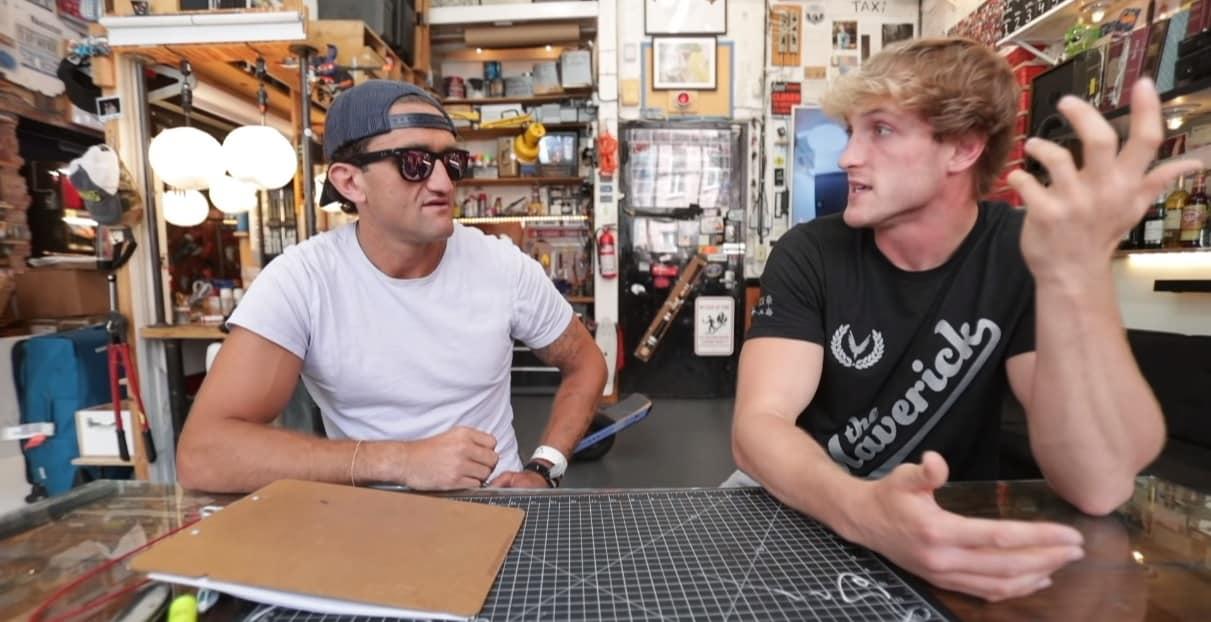 Casey Neistat and Logan Paul