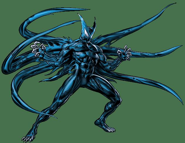 Takto nejak vyzerá symbiot Riot v komiksoch