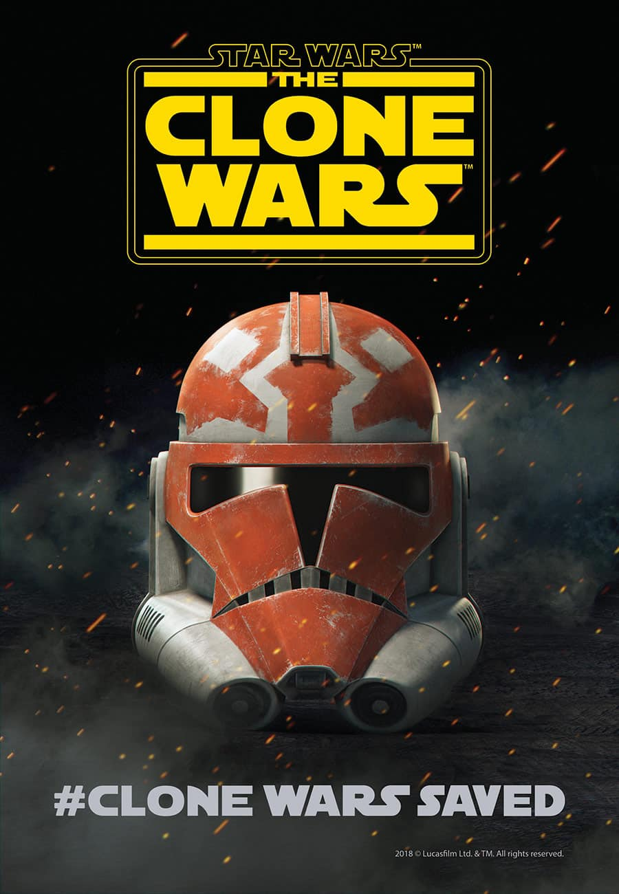Oficiálny plagát na siedmu sériu Star Wars: Clone Wars!