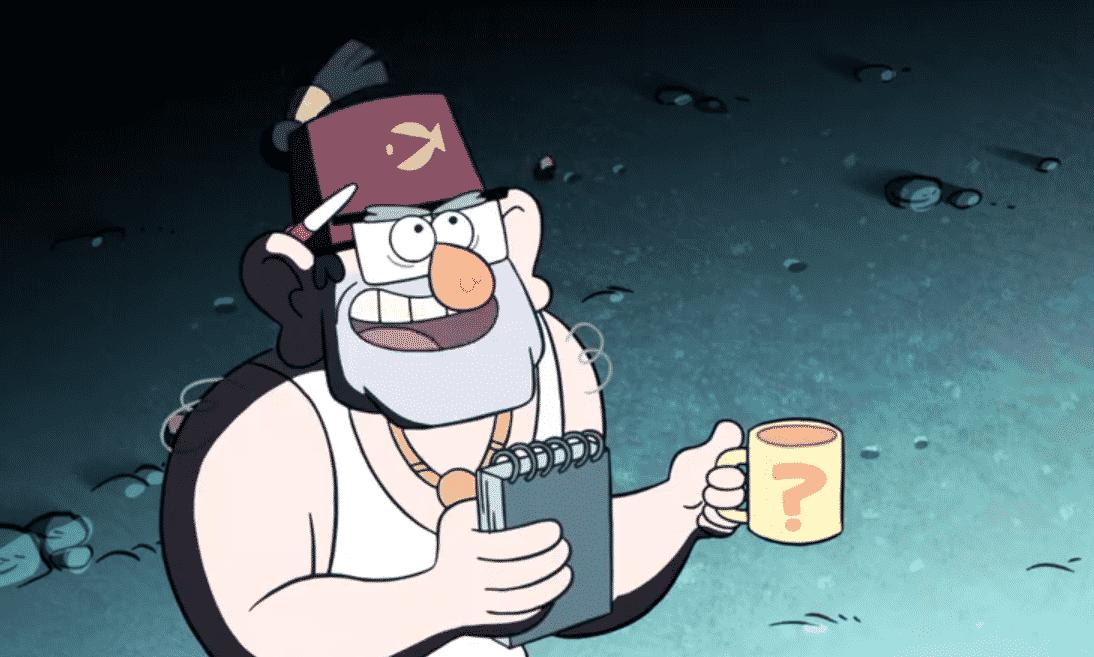 Stan Gravity Falls