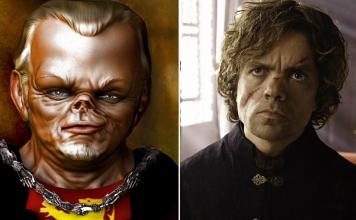10 seriálových rozdielov z knižnej predlohy Hra o tróny