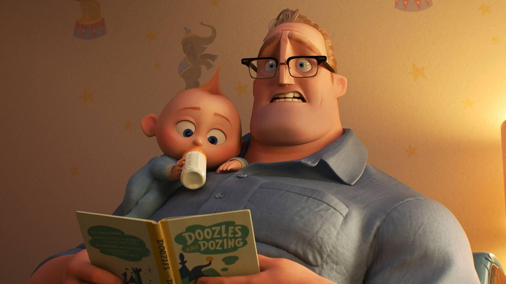 animácia filmu Rodinka úžasných