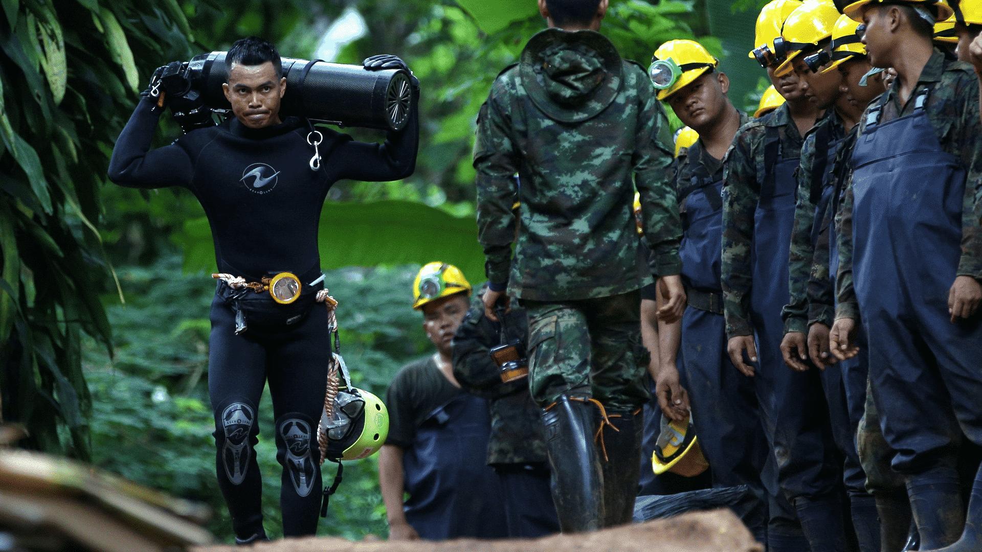 chlapci uväznení v thajskej jaskyni