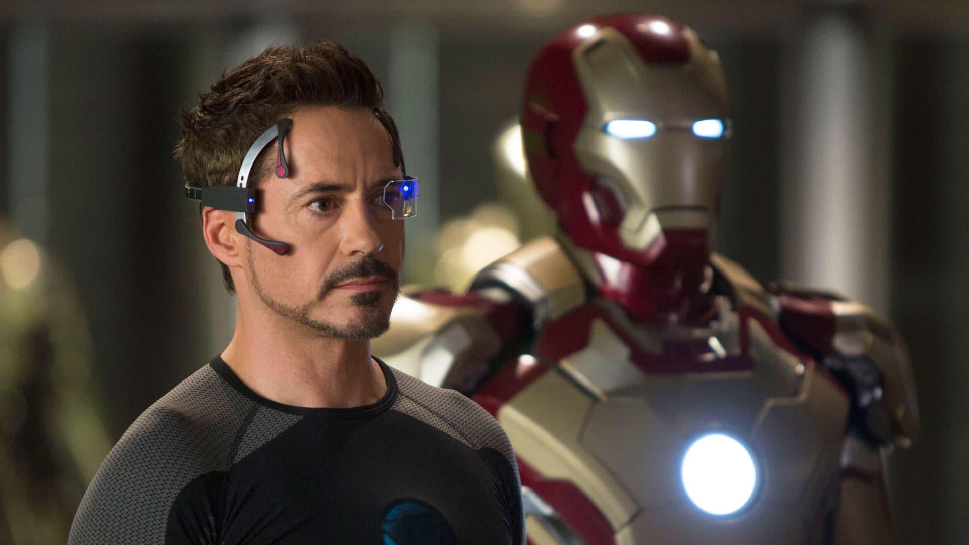 Tony Stark bol na konci filmu Iron Man 3 urobený celý pomocou CGI technológie!