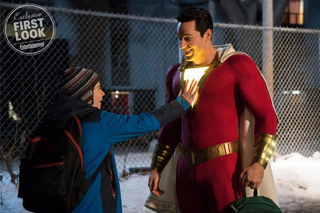 Druhá oficiálna fotka z filmu Shazam