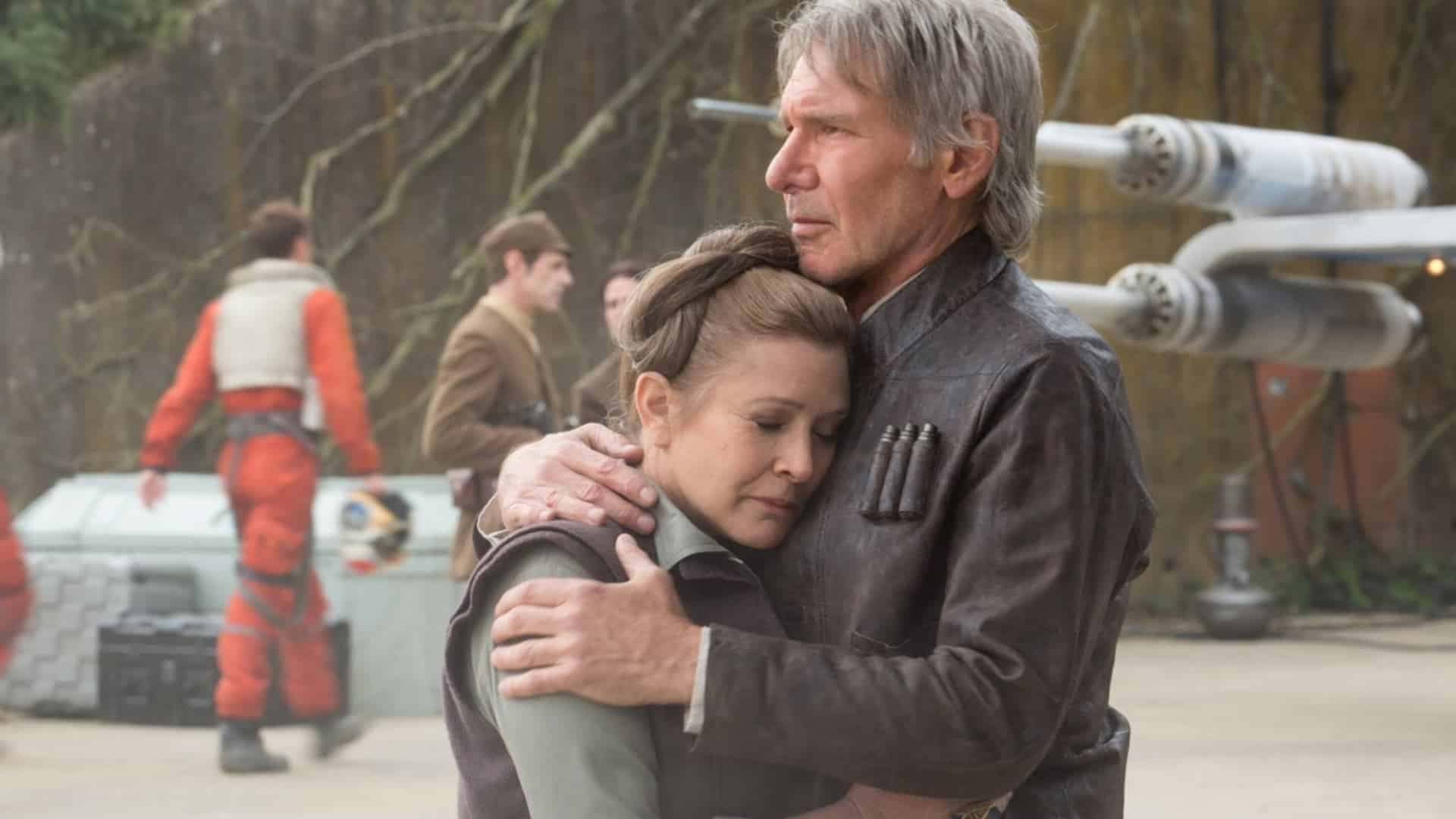 Leia sa vráti pomocou nepoužitých scén z filmu Star Wars: The Force Awakens