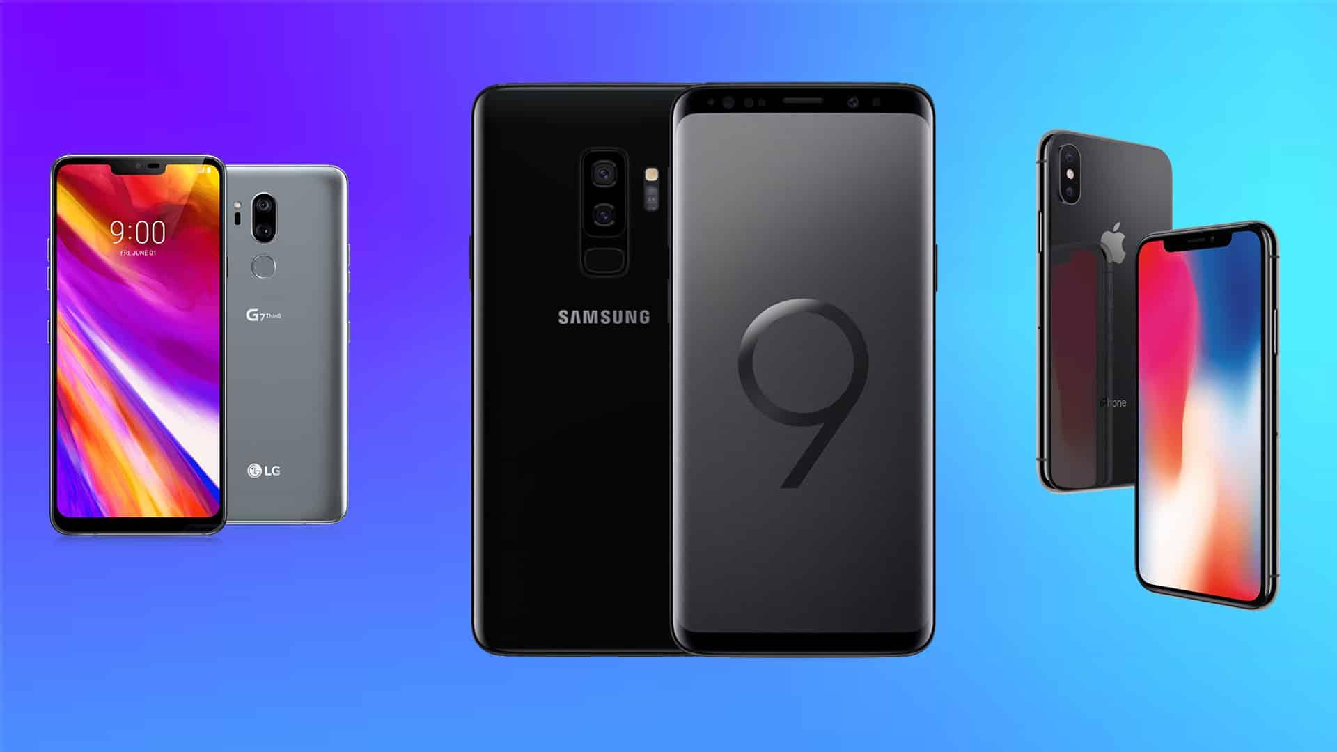 5 najlepších mobilných telefónov