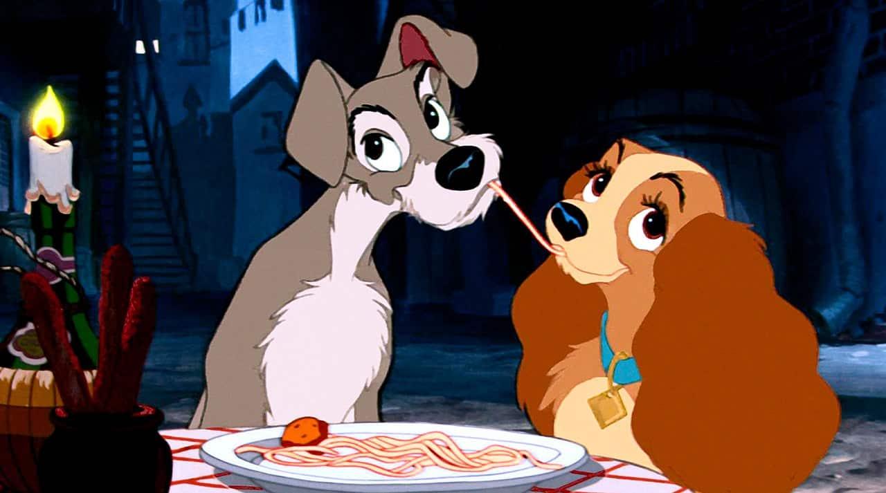 Nostalgické animáky od Disney lady a tramp