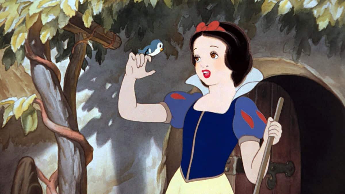 Nostalgické animáky od Disney snehulienka a sedem trpaslíkov