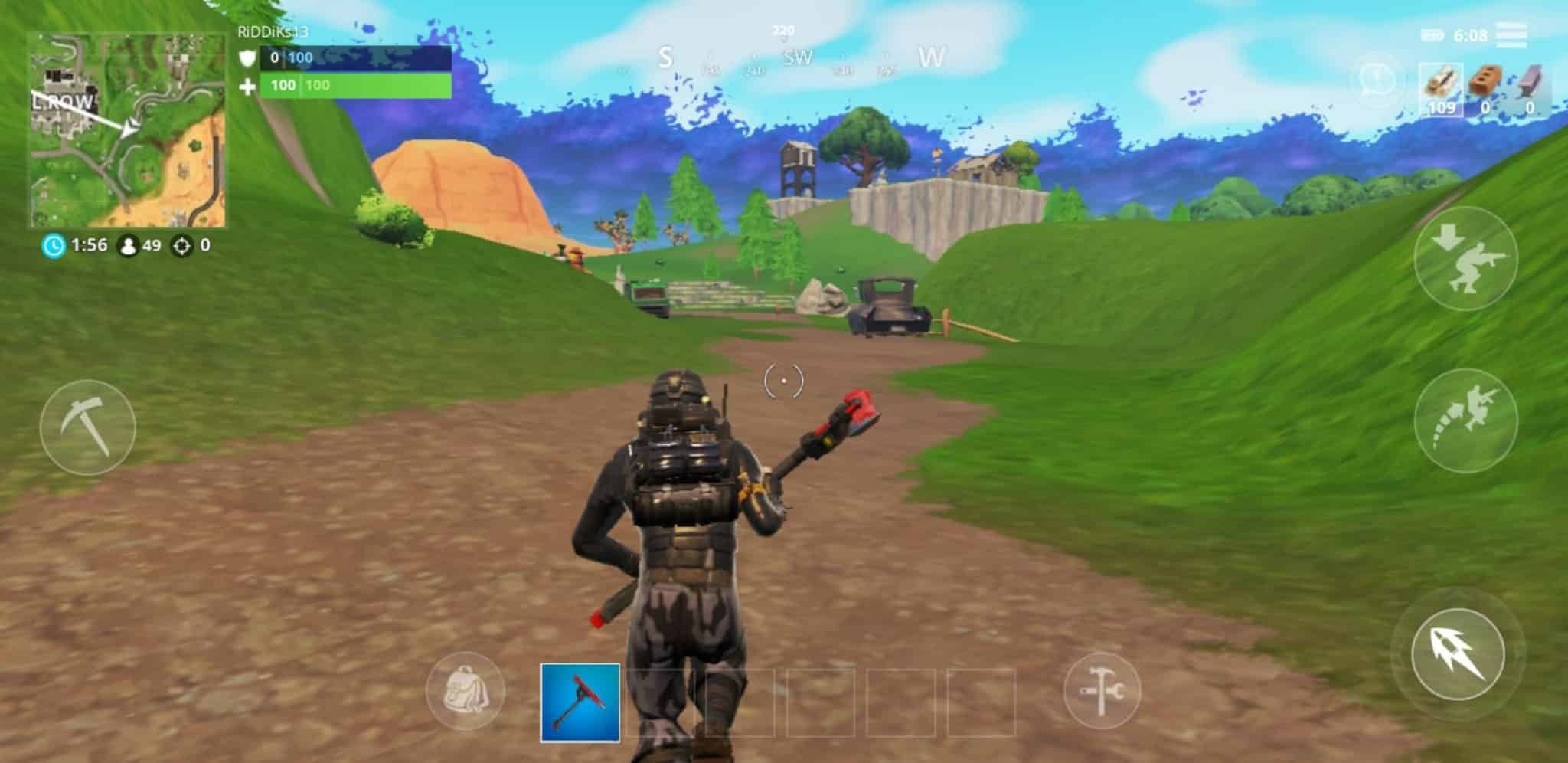 Fortnite na Androidy