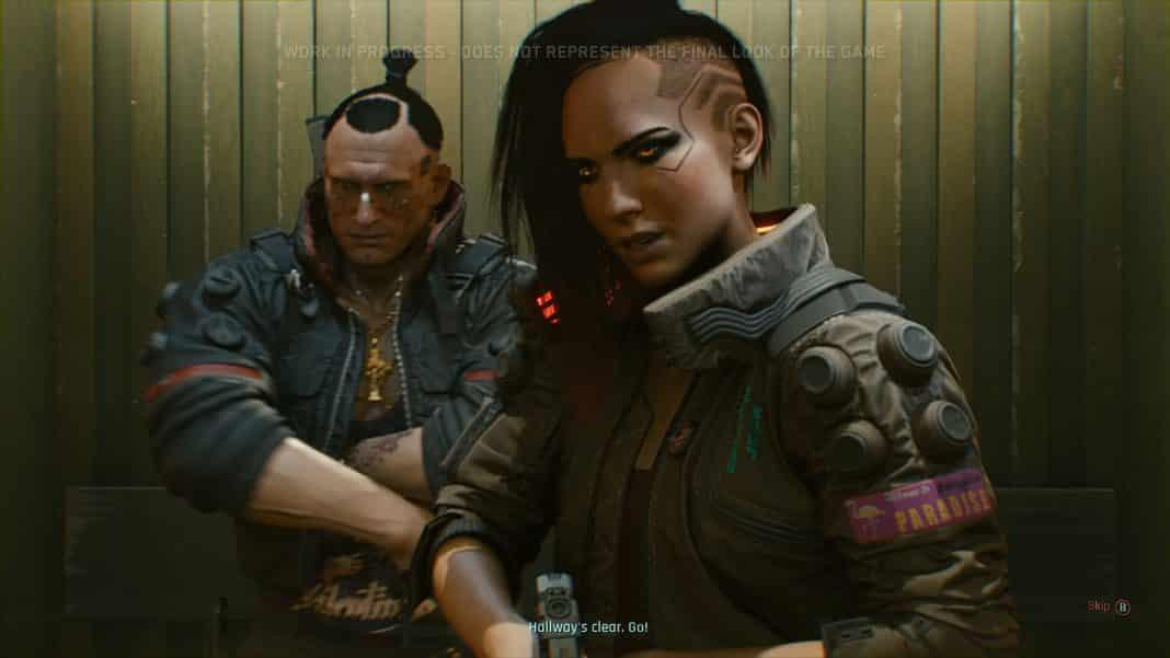 gameplay z hry cyberpunk 2077