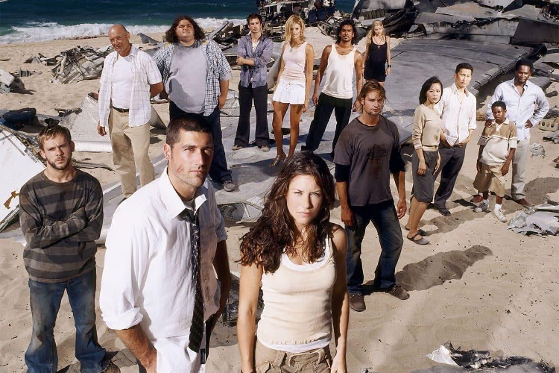 Fotka z pilotnej epizódy Lost