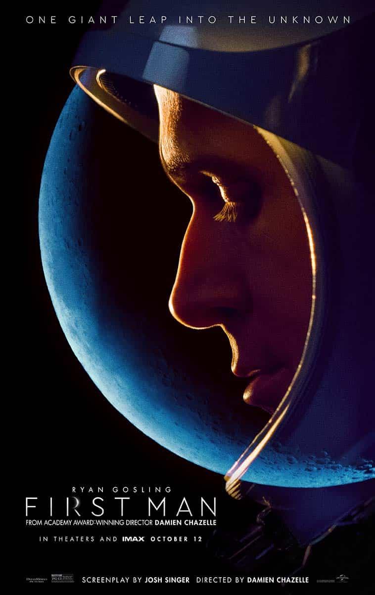 Oficiálny plagát k filmu First Man