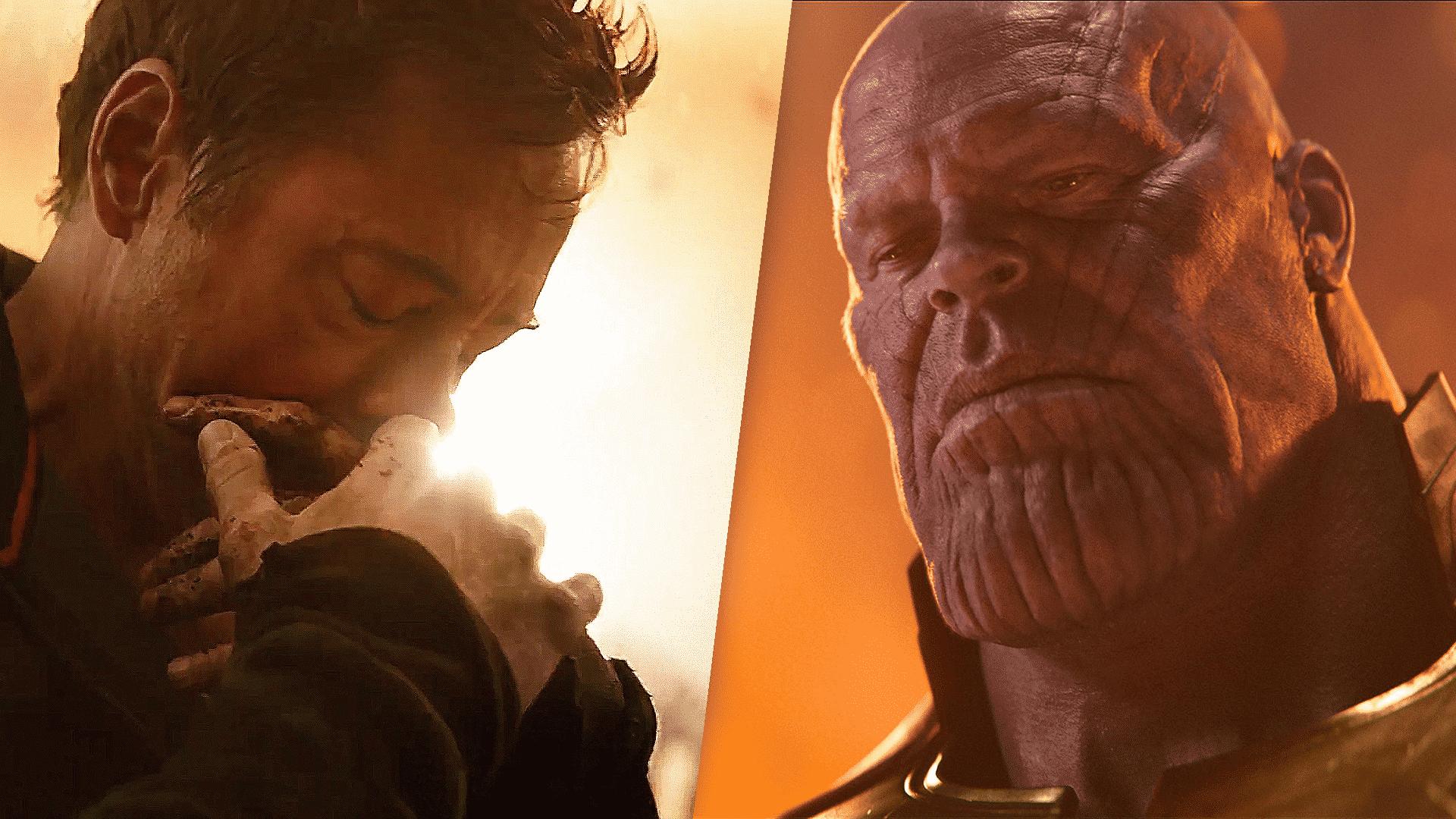Tony Stark a Thanos