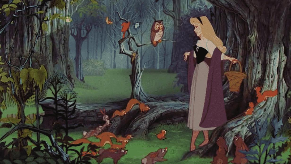 Nostalgické animáky od Disney šípková ruženka