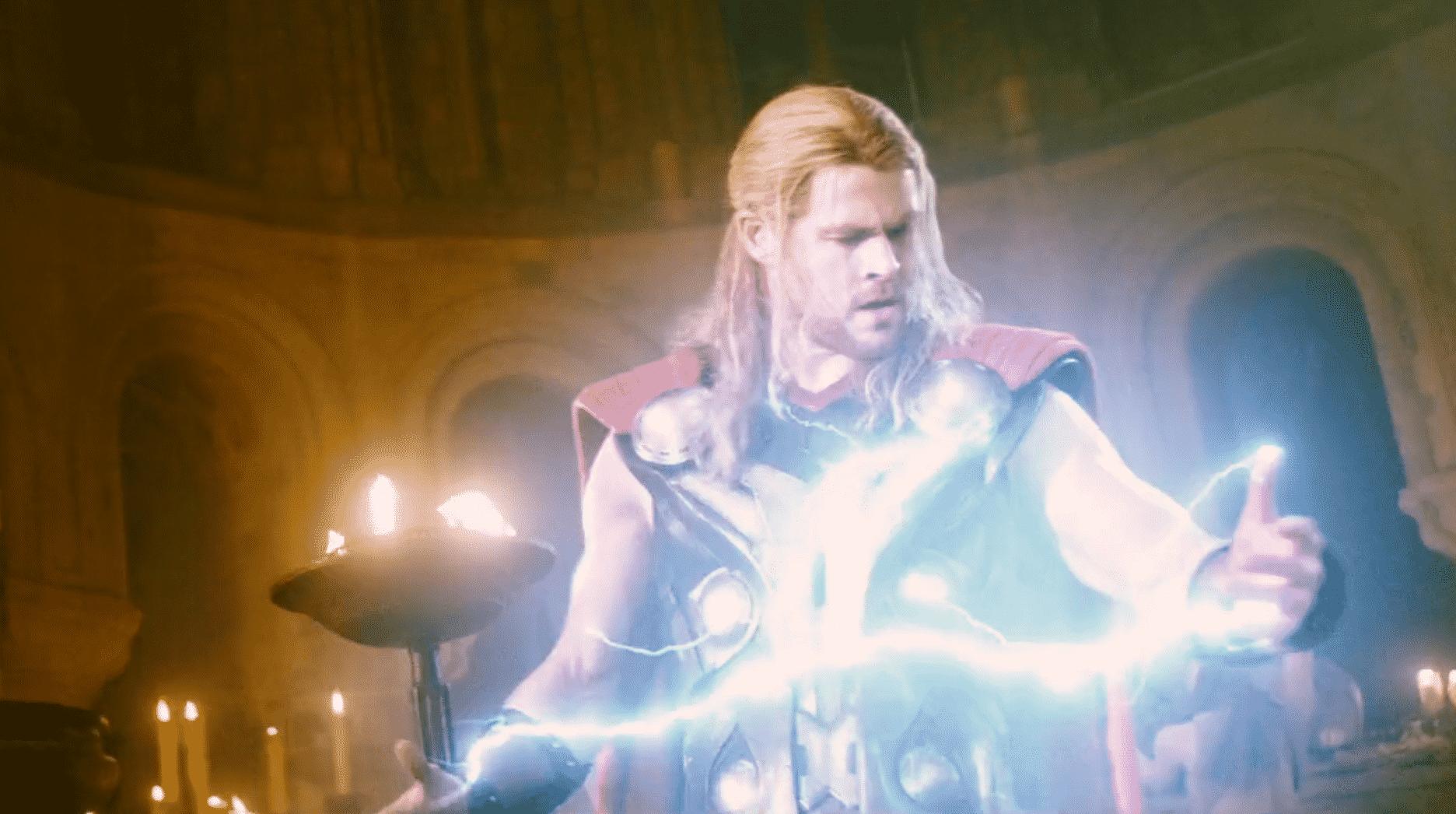 thor avengers 2: vek ultrona