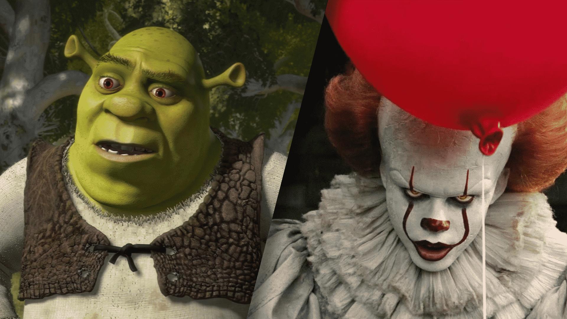 Shrek miesto Pennywisea