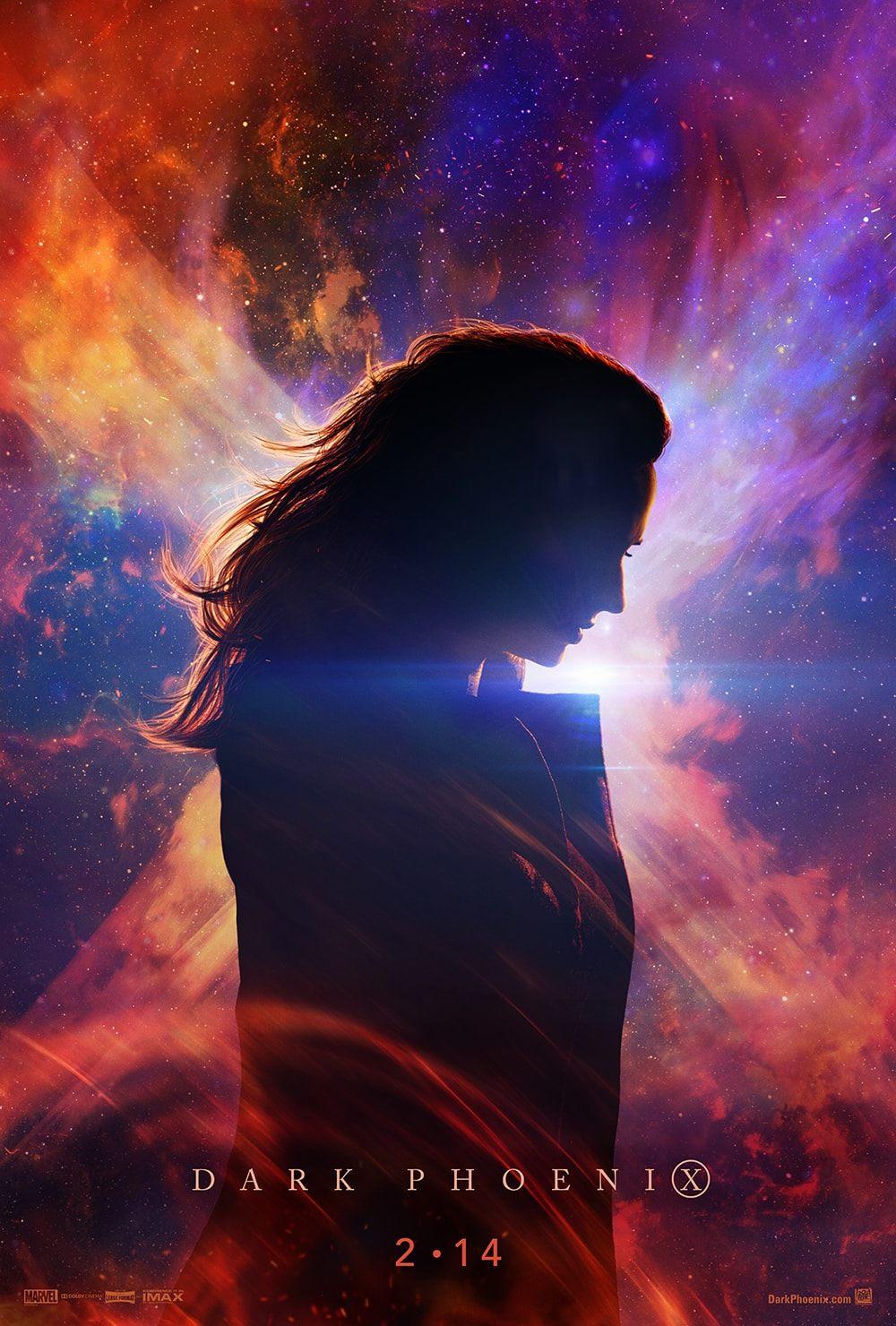 Teaser plagát na film Dark Phoenix