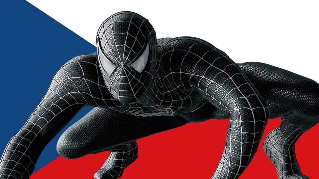 Spider-Mana videli v Liberci natáčať v čiernom obleku