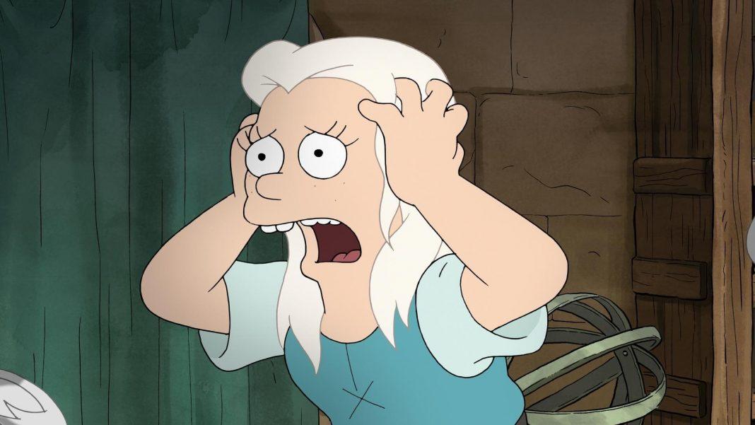 Skryté referencie na Simpsonovcov a Futuramu v novom seriáli Disenchantment