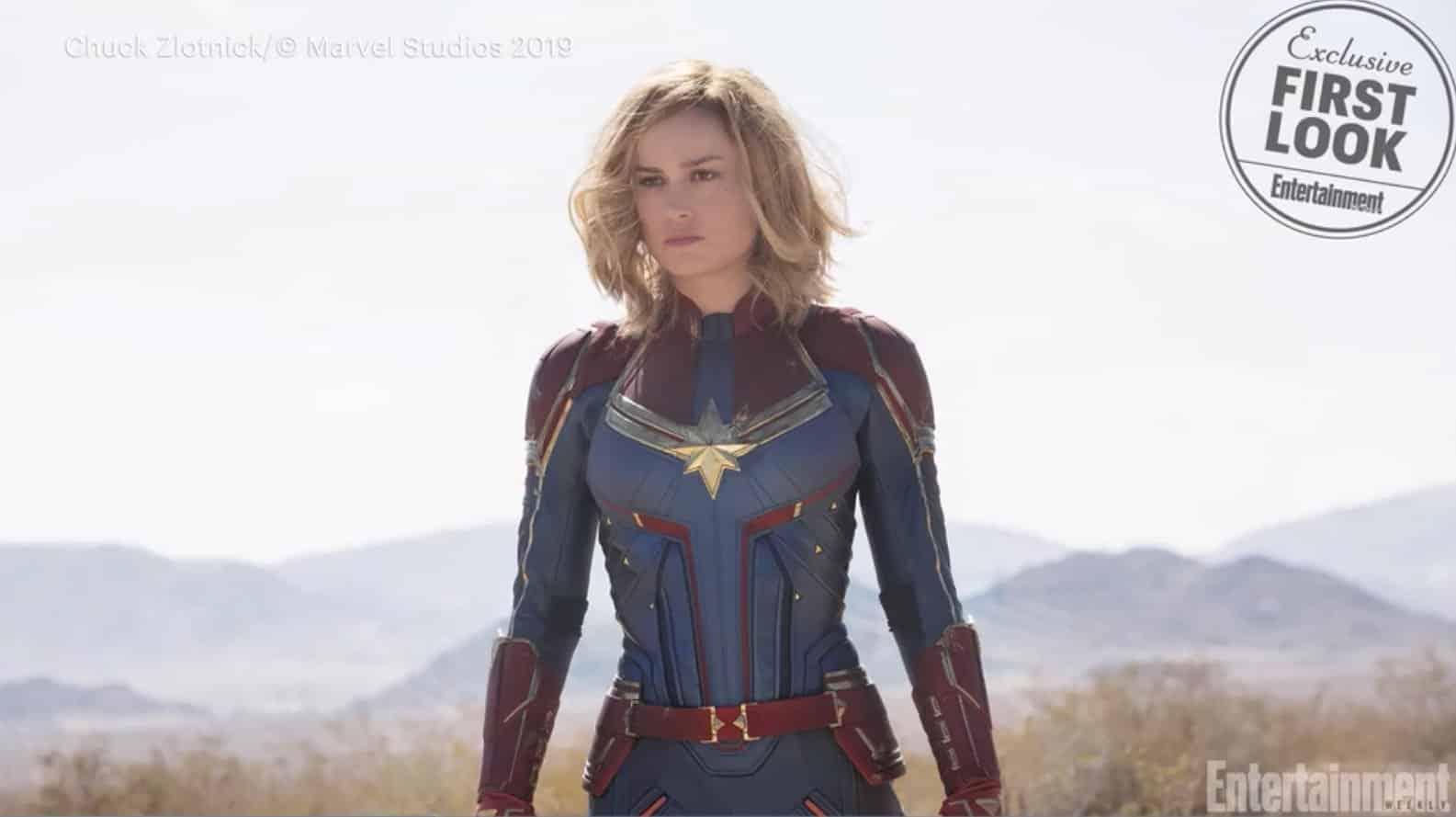 Prvá fotka z filmu Captain Marvel