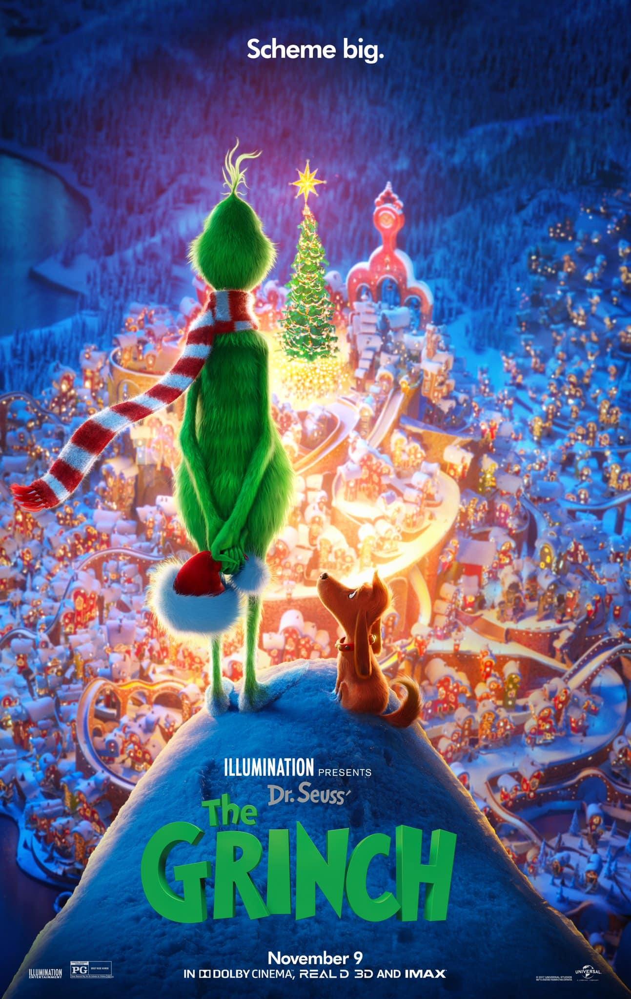 Nový plagát na film Grinch
