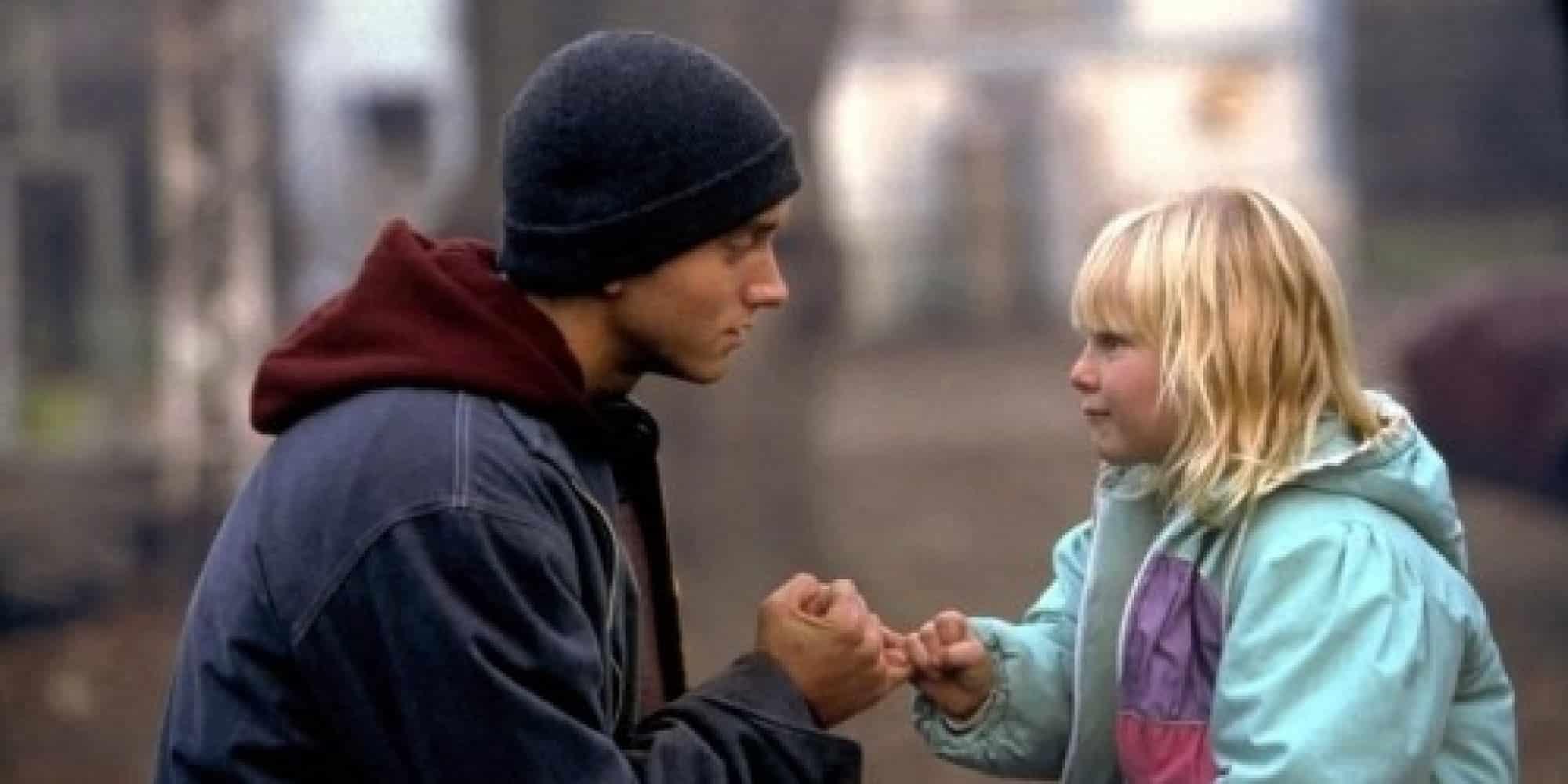 Eminem so sestrou
