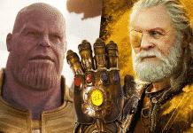 Thorov otec Odin thanos