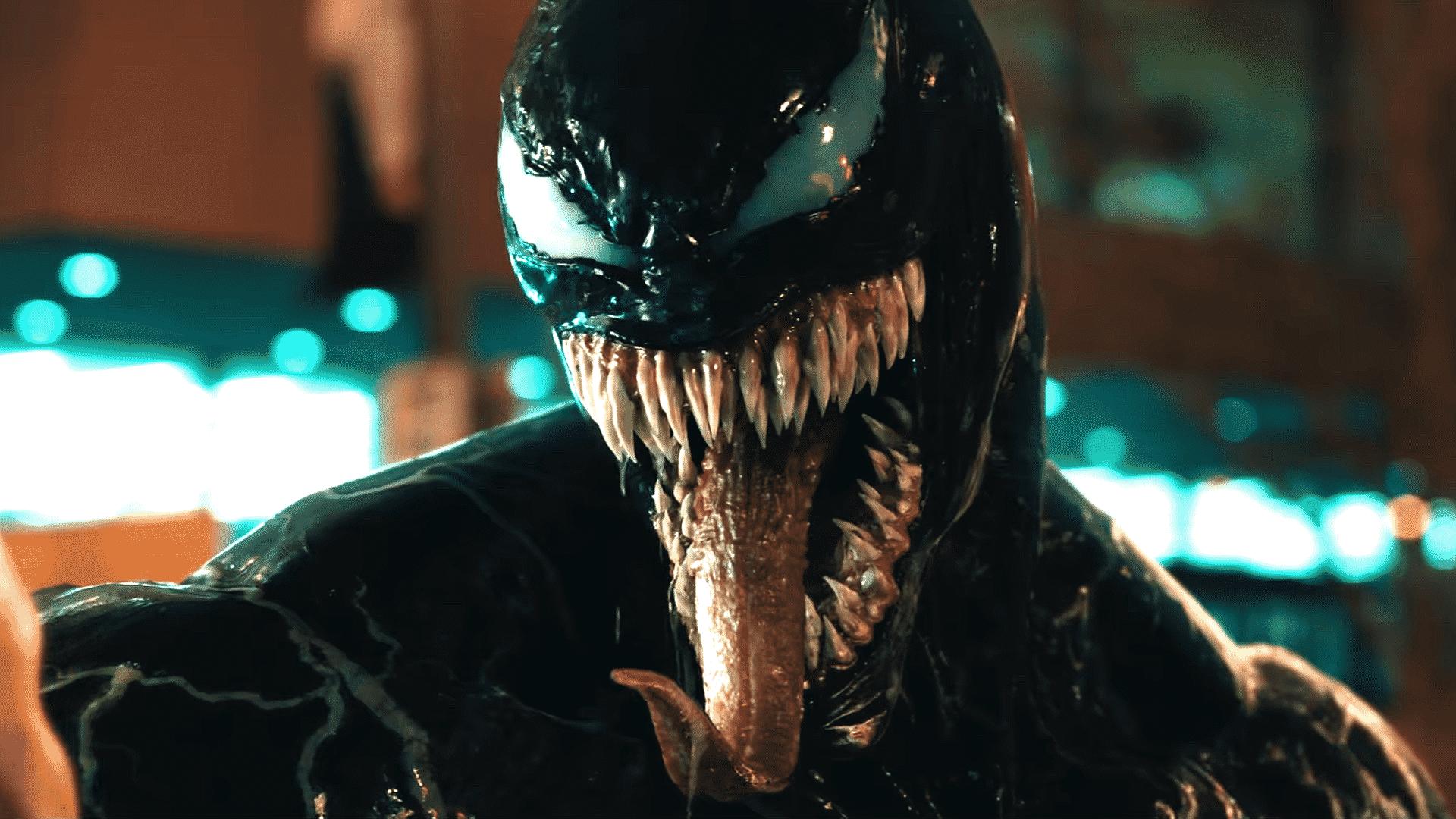 Resultado de imagem para venom tom hardy tongue