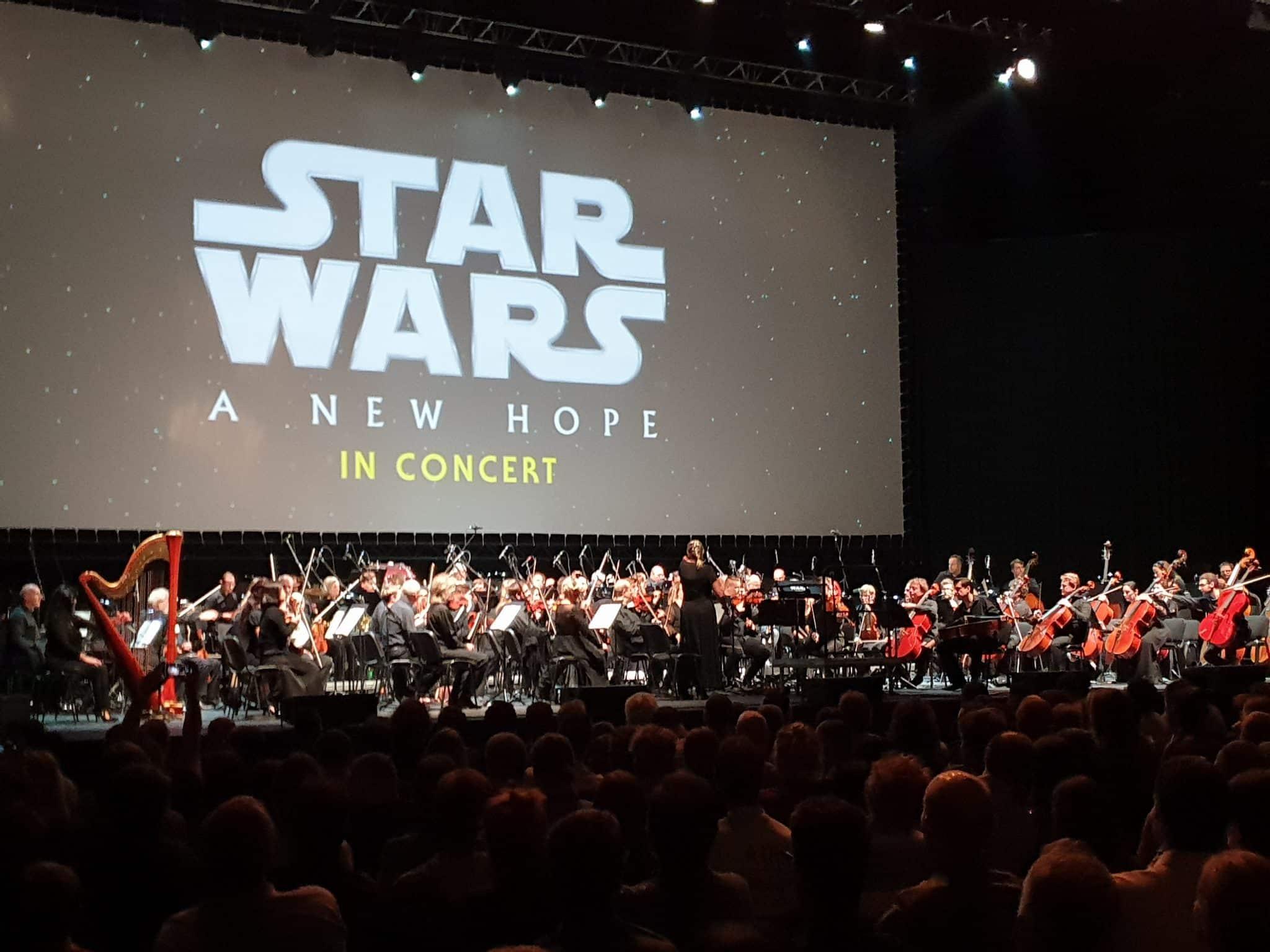 Star Wars so živou hudbou