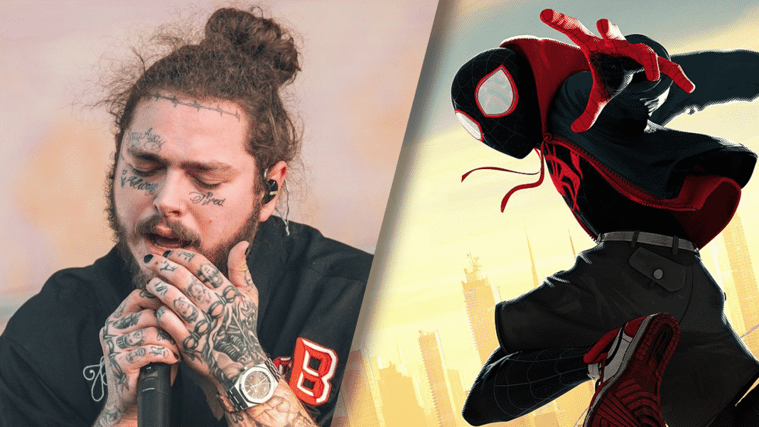 post malone a spider-man
