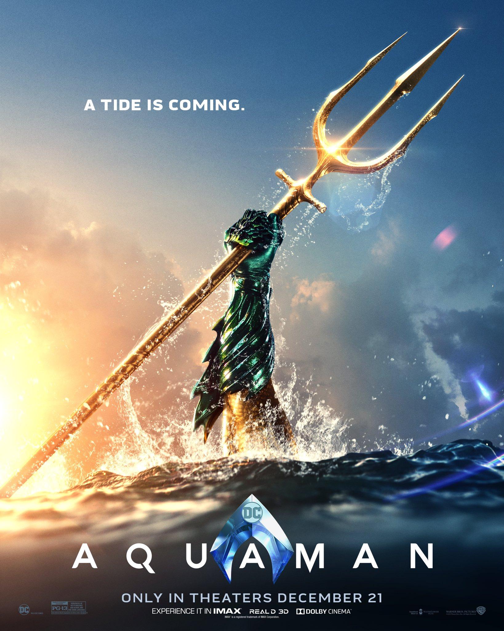 Nový plagát k DC filmu Aquaman