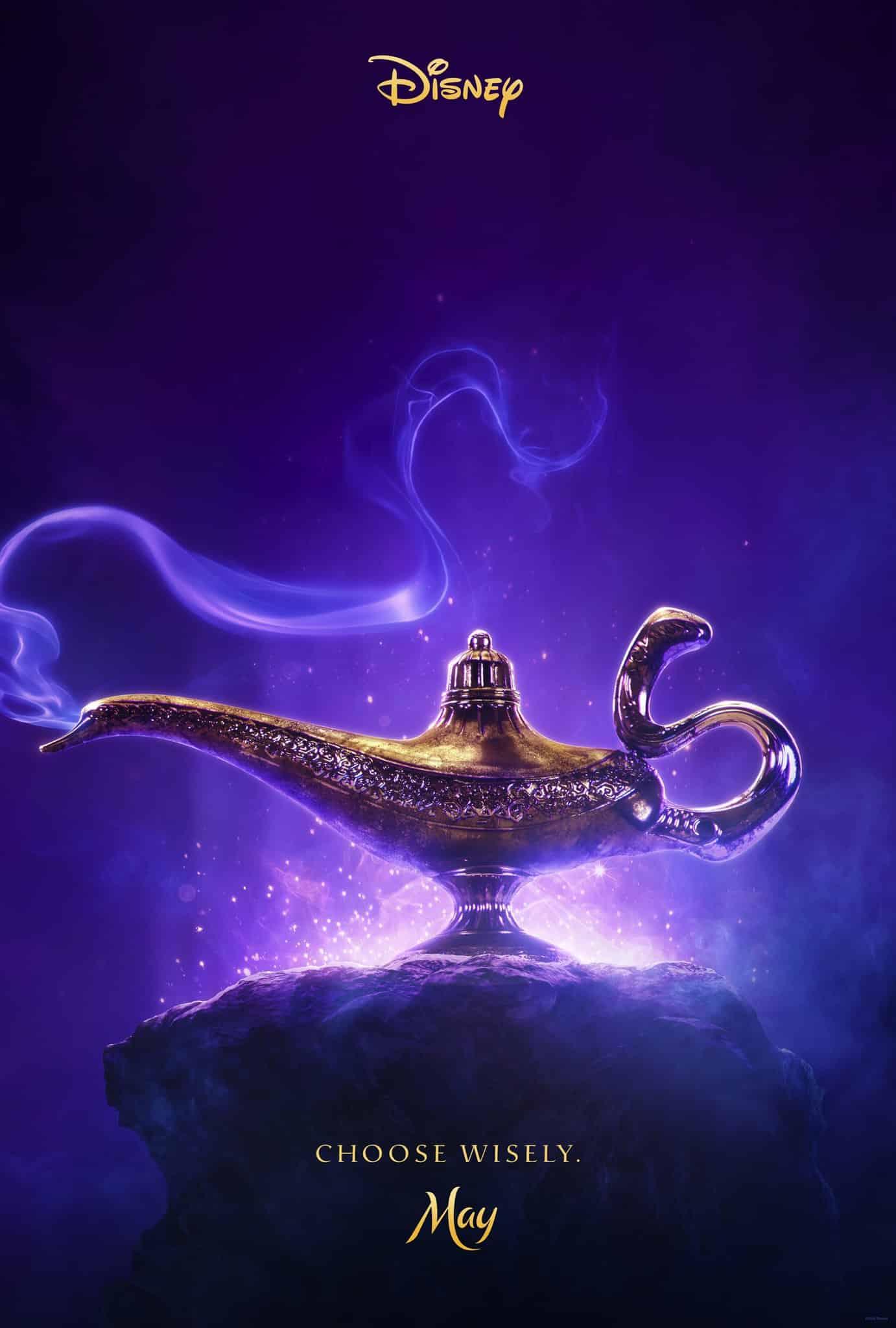 Oficiálny teaser plagát na film Aladin
